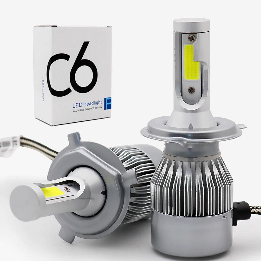 광전 C6 오토바이 자동차 프리미엄 헤드라이트 LED전조등 H4 H7 H8