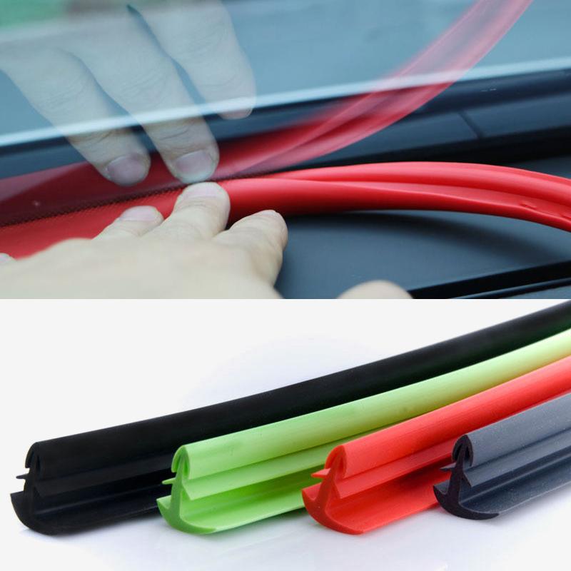 SB 자동차 풍절음방지 윈드키퍼 대쉬보드 몰딩 1.7M 블랙 레드 그린 다크그레이
