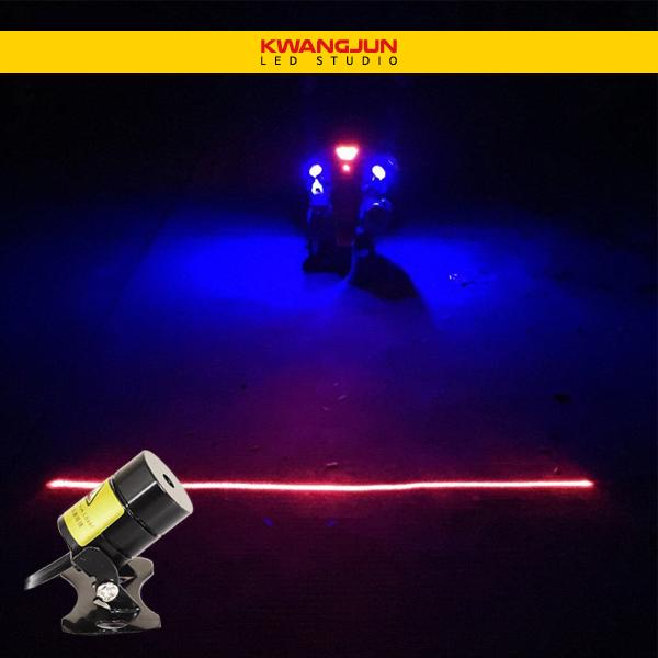 광전 레이저 LED 고급형 일자형 2018년 최신모델 오토바이 자동차 후방등 안전등 경고등