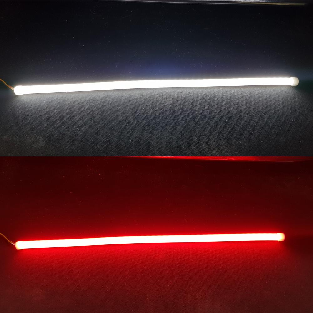 DC12V 오토바이 6mm 슬림 2WAY 면발광 LED바 315mm 흰색 빨강 808251054